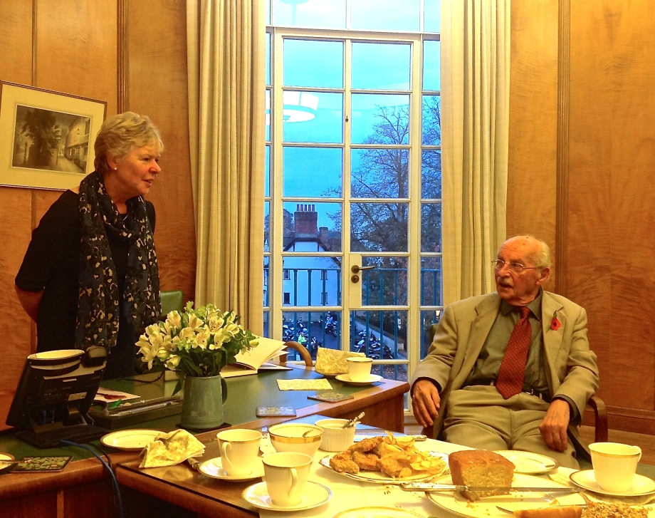 Joe and the Lord Mayor in conversation November 2014