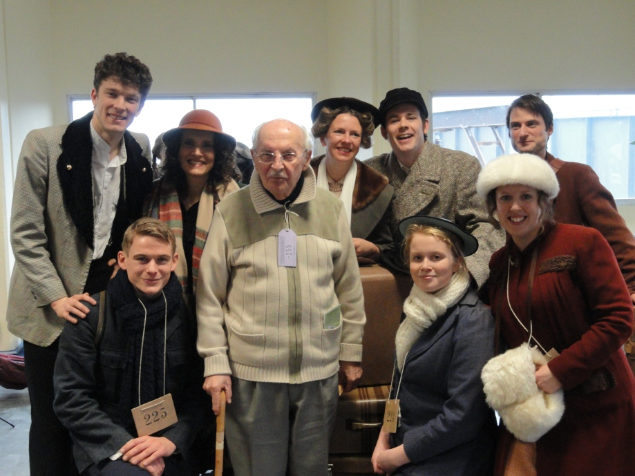 Joe Stirling and Cast of Suitcase Press
