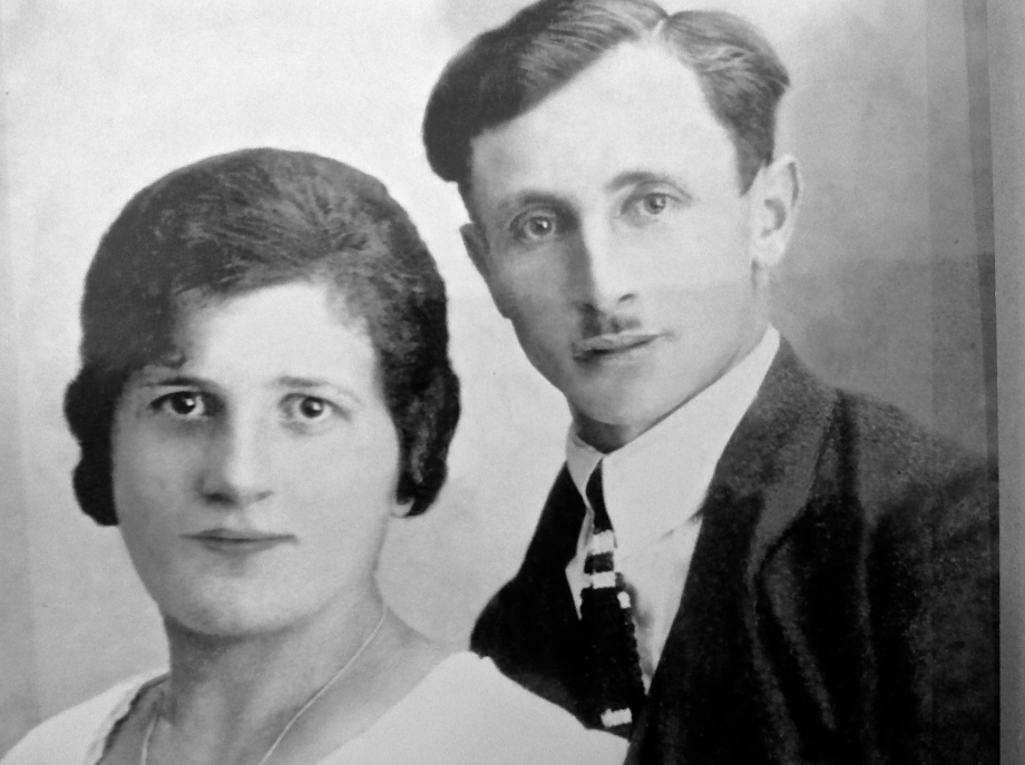 Günters parents who died in Sobibor summer 1942