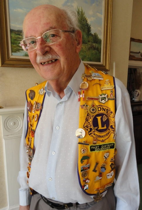 Joe in Lions Vest 2012