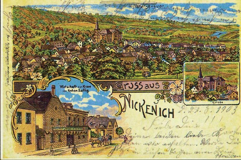 Old postcards from Nickenich