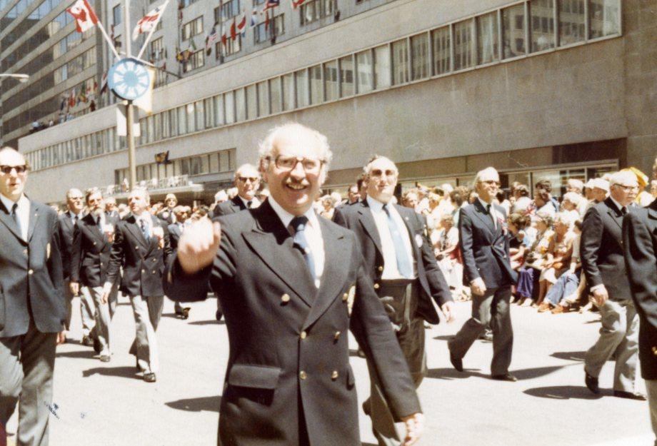 Joe leads the British delegation!