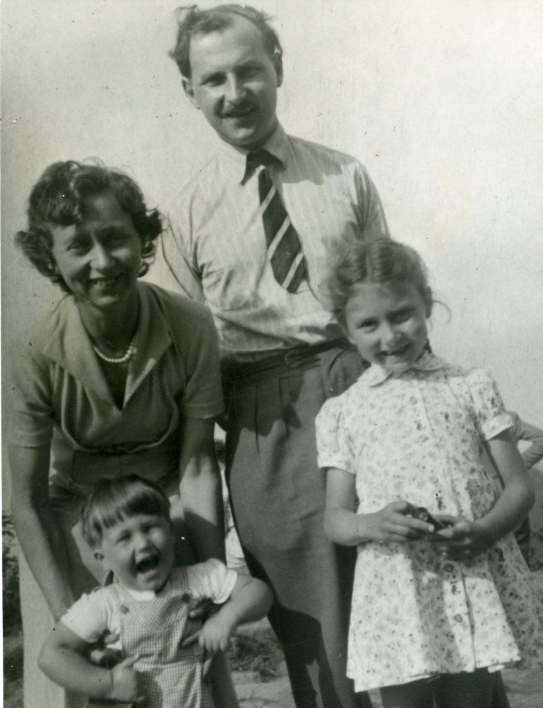 Joe, Jean, Jane and Ian in early 1950s.