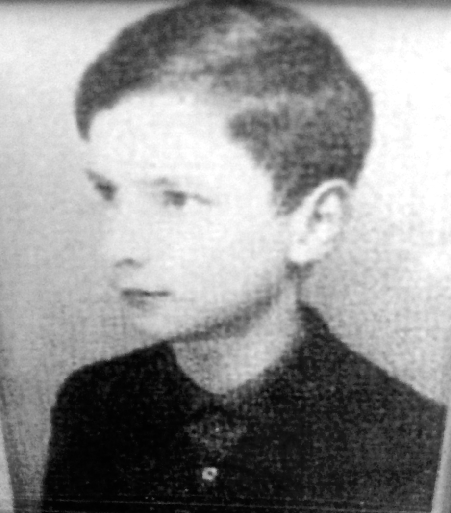 Gunter Stern as a young child in Nickenich