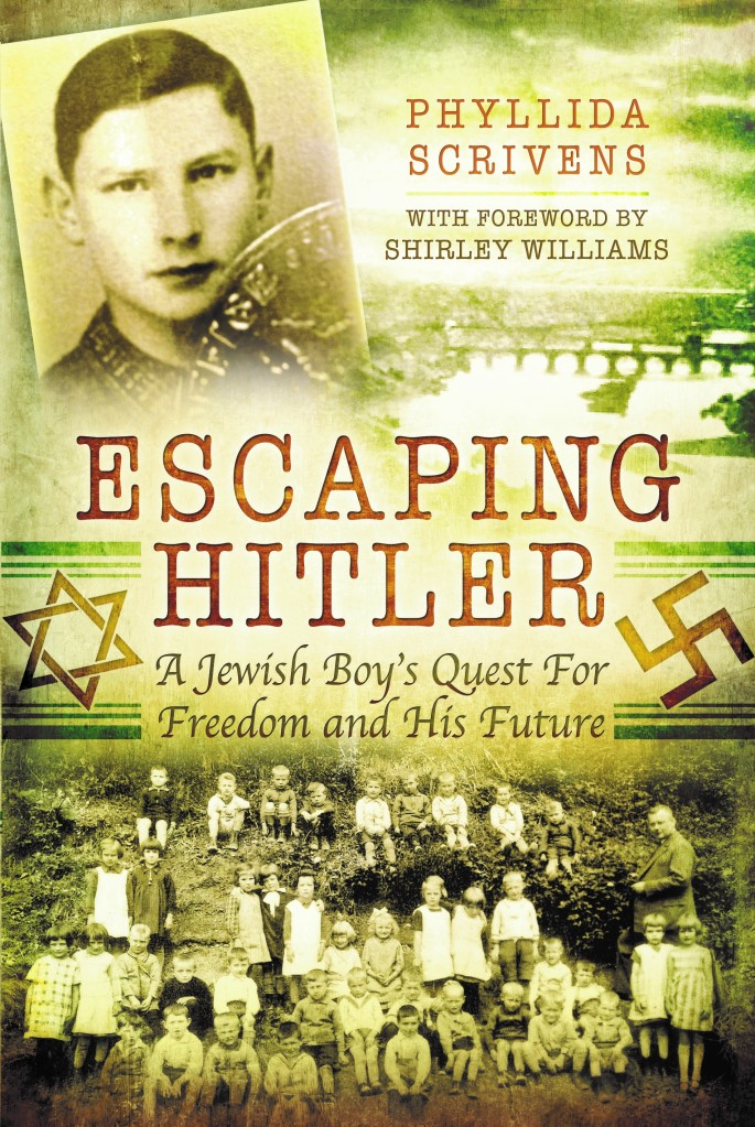 Front cover of Escaping Hitler
