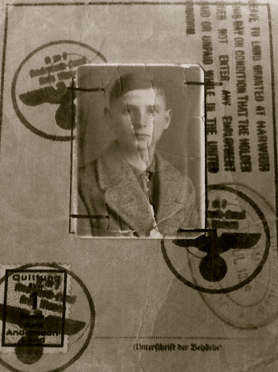 1-003 Gunter ID card front
